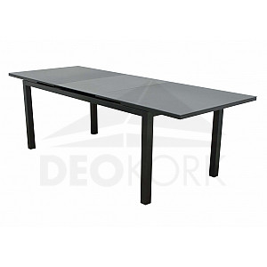 gartentische aus metall aluminium i. Black Bedroom Furniture Sets. Home Design Ideas